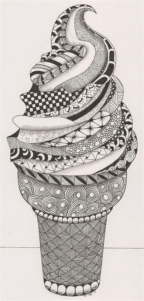 Drawing Zentangle by The Incidental Of Doodling And Why It Is So