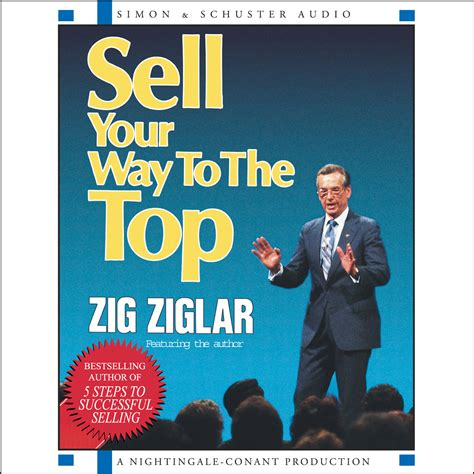 best way to sell books sell your way to the top audiobook by zig ziglar