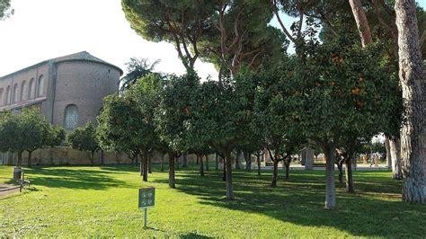 giardino dei aranci giardino degli aranci di roma il parco nascosto tra