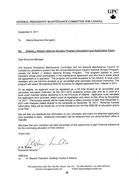 application letter ndp news archive ibew424