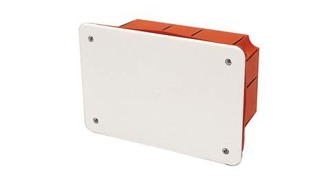 cassette elettriche da incasso scatola di derivazione da incasso con placca