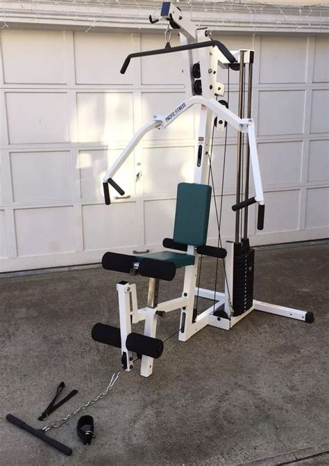 pacific fitness zuma home machine exercise