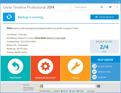best free backup software 2014 review genie timeline professional 2014 from softwarecrew