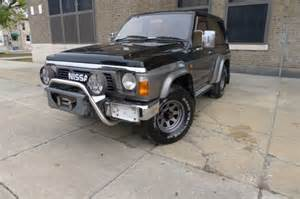 nissan patrol 1990 road 1990 nissan patrol safari for sale photos technical