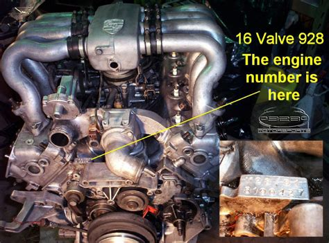 porsche 928 engine 928 motorsports llc 174 identify your porsche 174 928