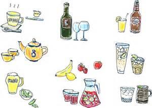 hachi cafe ドリンクメニュー用イラスト作成およびデザイン by shimao illustration pinterest