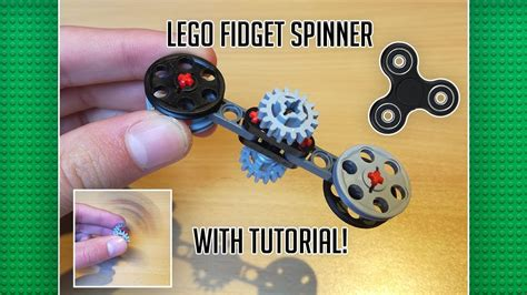 lego tutorial easy lego fidget spinner tutorial easy youtube