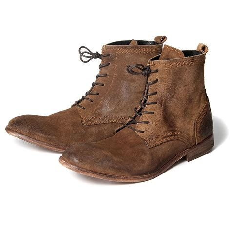 hudson boots h by hudson boots swathmore suede mens boot ebay