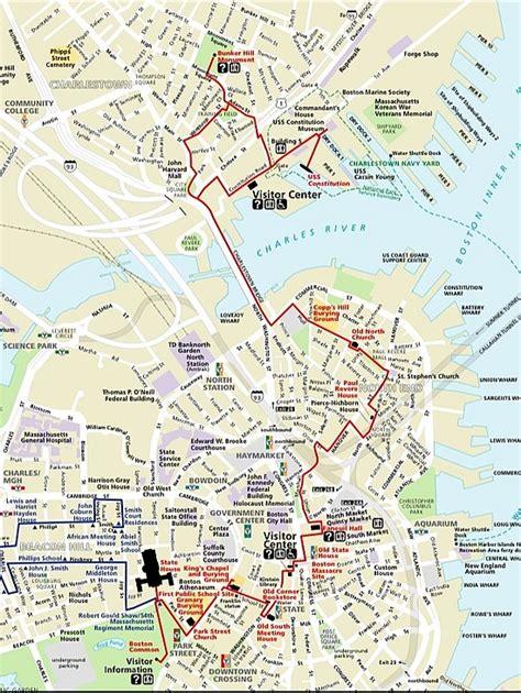 freedom trail boston map boston coffee talk boston freedom trail