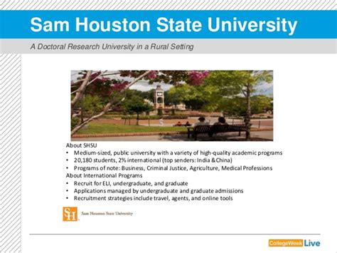 Sam Houston State Mba Accreditation by Prevailing Trends How To Engage International Students