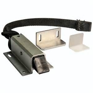Teak Console Table Aluminum Lock With Strap