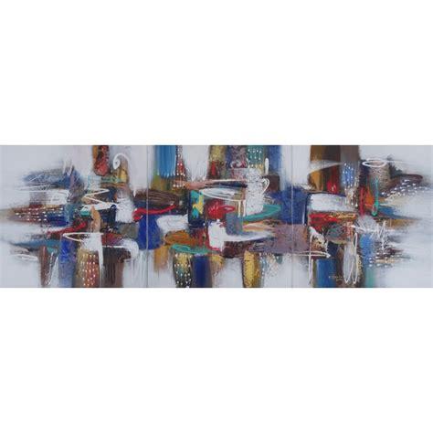 Tableaux Triptyques 1646 tableaux triptyques tableau triptyque jaune et violet