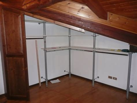 cabina armadio in mansarda principali realizzazioni interamente in massello