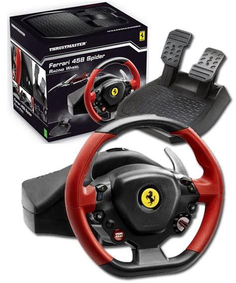 Ferrari 458 Spider Xbox One by Thrustmaster Ferrari 458 Spider Racing Wheel Xbox One