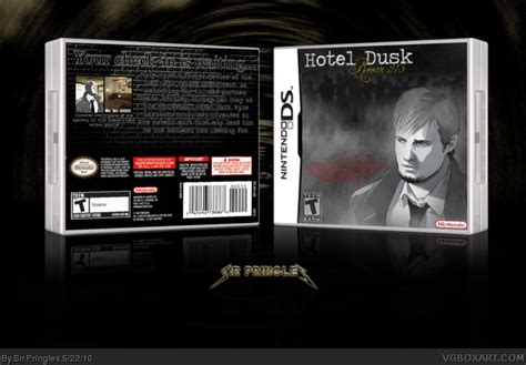 hotel dusk room 215 hotel dusk room 215 nintendo ds box cover by sir pringles