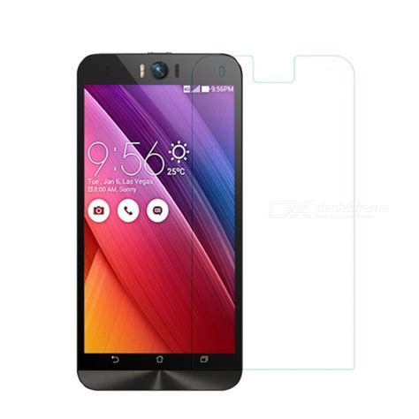 Screen Guard Oren Tempered Glass Asus Zenfone Selfie Antigores S naxtop tempered glass screen protector for asus zenfone