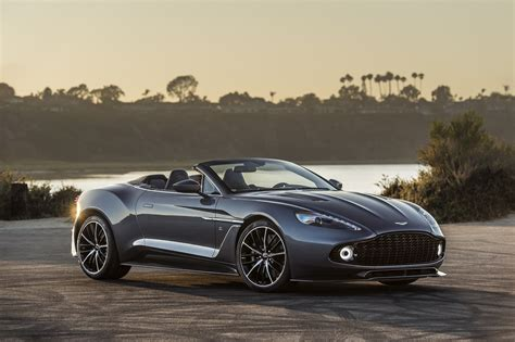 aston martin zagato speedster aston martin unveils the vanquish zagato speedster and