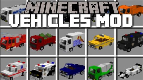 Minecraft Auto Mod Download by Vehicles Mod 1 10 2 1 8 9 Motorcycles Planes Bikes