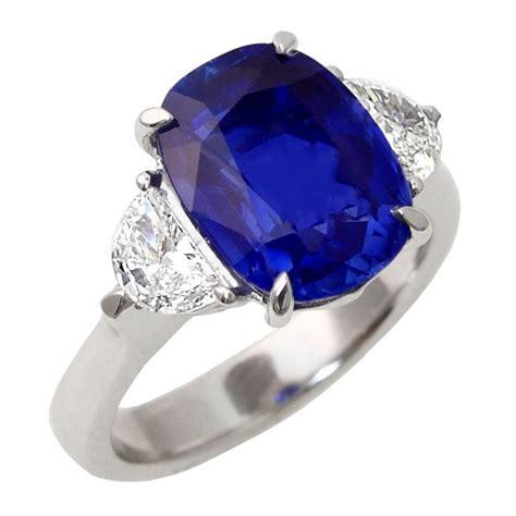5 54 carat no heat kashmir sapphire