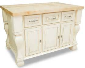 white kitchen island and antique drawers