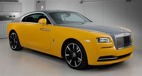 roll royce yellow the yellow rolls royce reborn in bespoke wraith