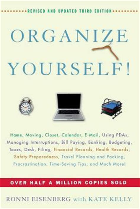 organizing yourself organize yourself by ronni eisenberg reviews