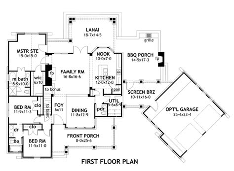 5 sq feet craftsman style house plan 3 beds 2 5 baths 1698 sq ft