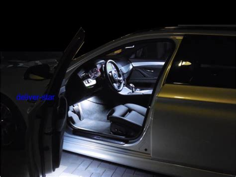 led len komplett white led smd courtesy interior lights bmw serie 5 f10 f11