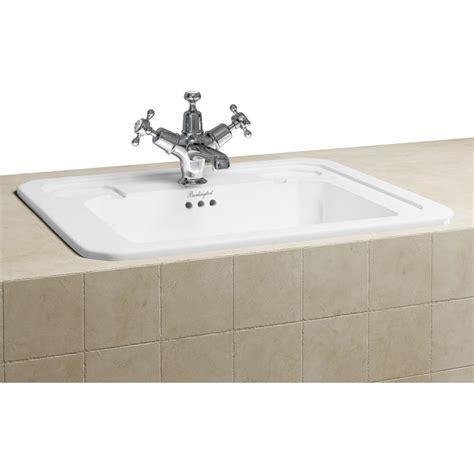 inset basin bathroom fully inset vanity basin 54cm buy online at bathroom city