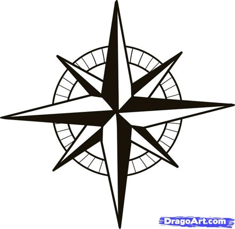 compass rose pictures for kids cliparts co