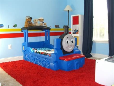 thomas and friends bedroom thomas the tank engine bedroom this is my two year old sons new bedroom he loves trains and