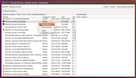 Finder Torrent Install Torrent Search In Ubuntu To Search Torrents On Multi Websites