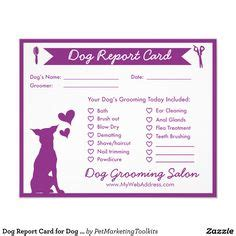 groomer clip card template 1000 ideas about grooming business on pet