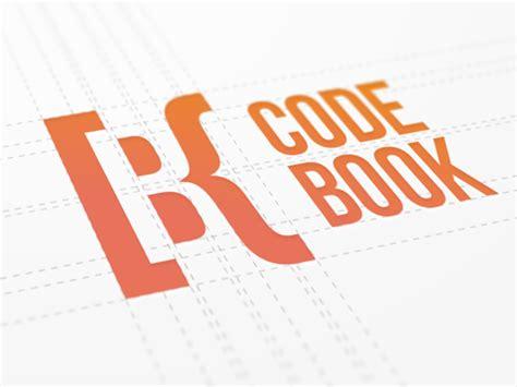 logo shapes book logo design negative shapes by ramotion on inspirationde