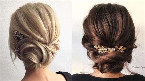 formal updos for medium length hair 2018 prom wedding hairstyles