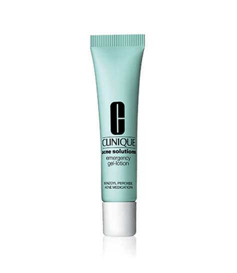 Clinique Acne Solution acne solutions emergency gel lotion clinique