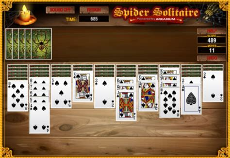 Pch Crescent Solitaire - pch games spider solitaire gamesworld