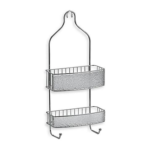 bed bath beyond shower caddy buy interdesign 174 rain shower caddy from bed bath beyond