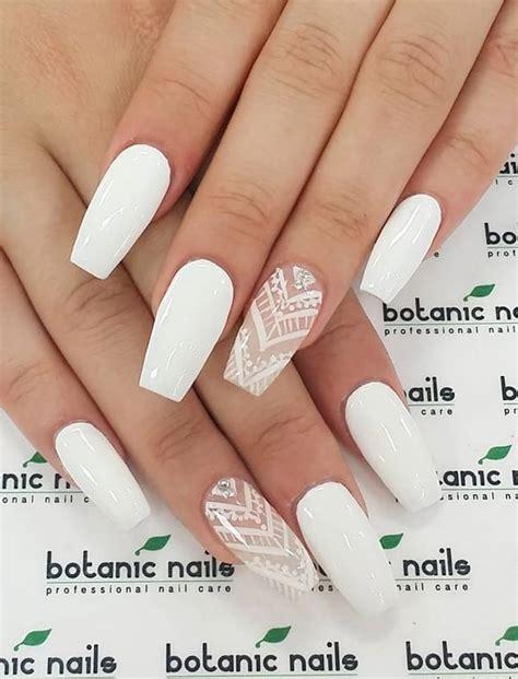 Easy White Nail 20 best images of white nail designs 2017 sheideas