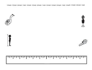 printable blank ruler worksheets ruler measurement landscape blank teacher clipart borders