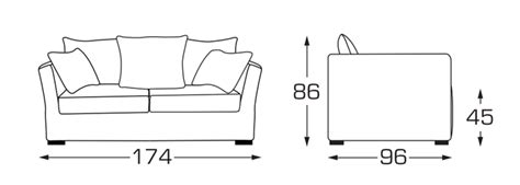 dimension canapé 2 places comment bien choisir canap 233 toutes les r 233 ponses