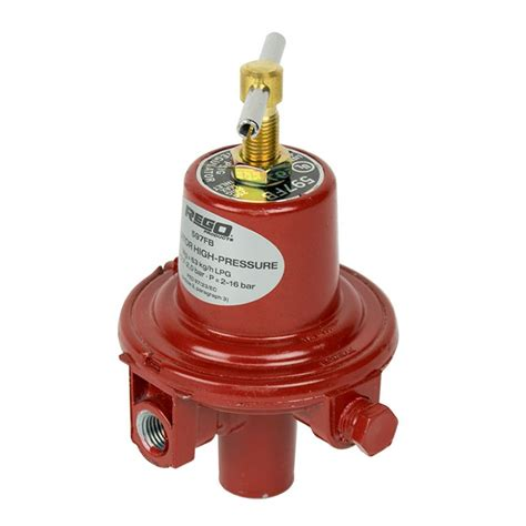 Regulator Single Stage Rego Low Pressure rego 597fb stage high pressure propane gas regulator buy now from gasproducts co uk