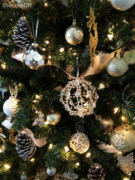 Tree Ornaments Handmade - livelovediy diy tree decor