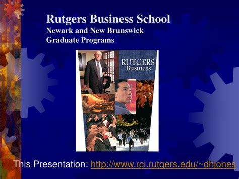 Rutgers Mba Curriculum Strategy by Ppt Rutgers Business School Newark And New Brunswick