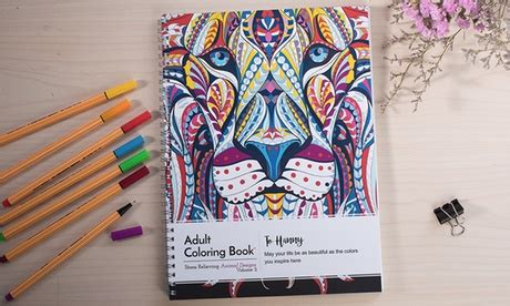 anti stress colouring book groupon photobook emirates one aed 79 or two aed 149
