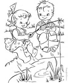 fishing coloring pages fish coloring book pages coloring home