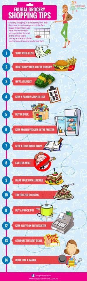 smart grocery shopping tips  save trusper
