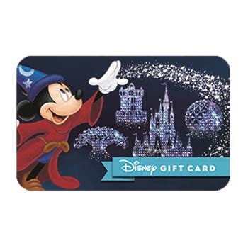 Gift Cards To Disney World - your wdw store disney collectible gift card disney world wishes sorcerer mickey