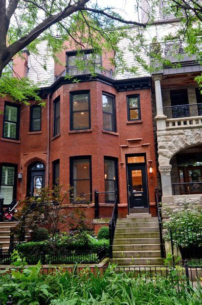 chicago houses victorian row house in chicago homes pinterest