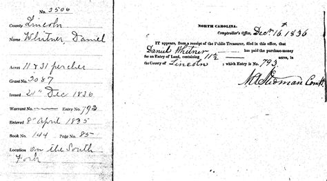 Catawba County Marriage Records Weidner Family Official Home Of Catawba County